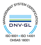 Management System Certification - DNV-GL - ISO 9001, ISO 14001, OHSAS 18001